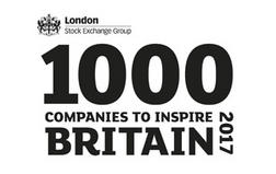 Welbeck is named as one of the '1000 Companies to Inspire Britain'