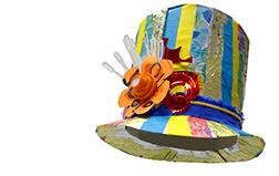 Half term at The Harley - Circus Hats and Headdresses