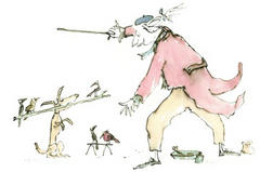 New Harley Gallery Exhibition - Quentin Blake