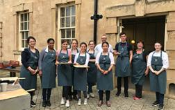 The School of Artisan Food welcomes Advanced Diploma Students