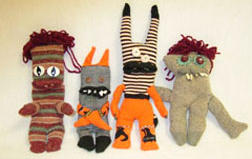 Sock Monkeys and Creatures