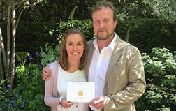 Harley Studio Florist Alison Doxey wins Gold at RHS Chelsea Flower Show
